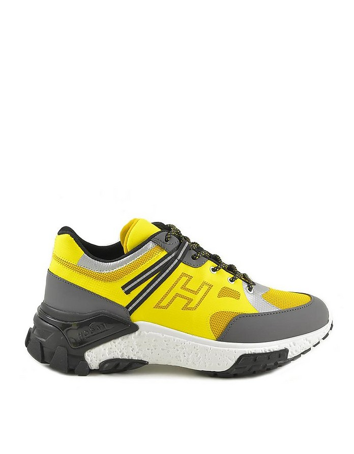 Men's Yellow / Black Sneakers - Hogan