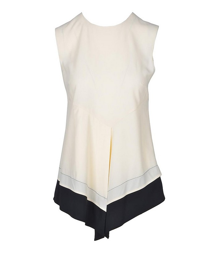 Women's Cream Top - Jucca