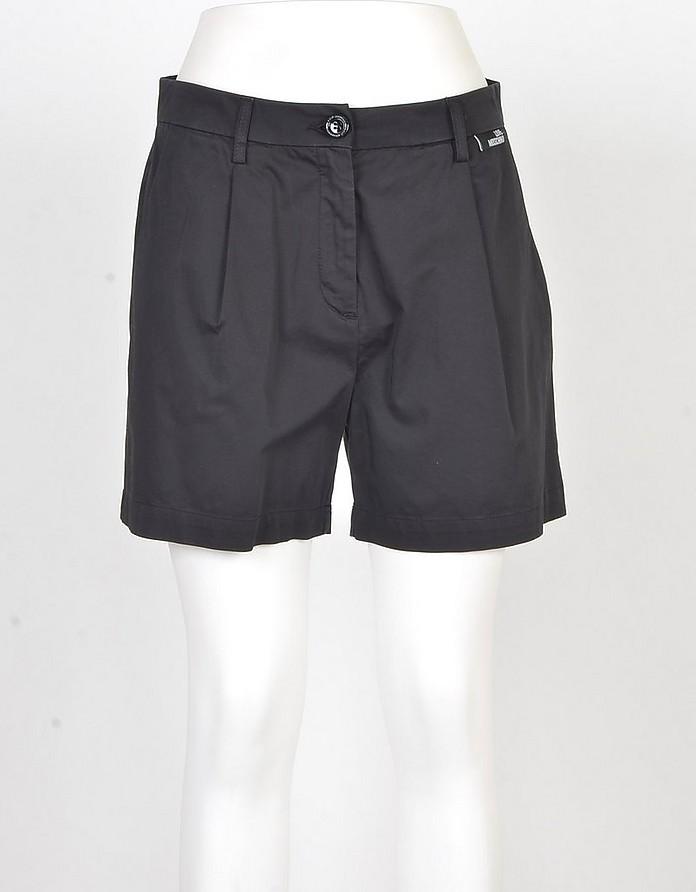 Women's Black Shorts - Love Moschino