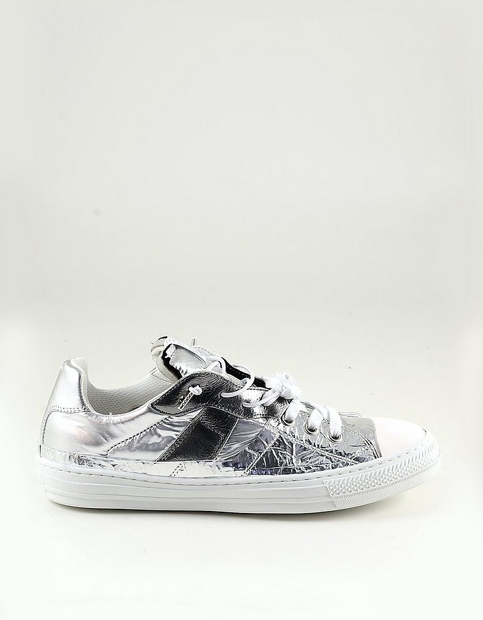 Silver Men's Sneakers - Maison Margiela