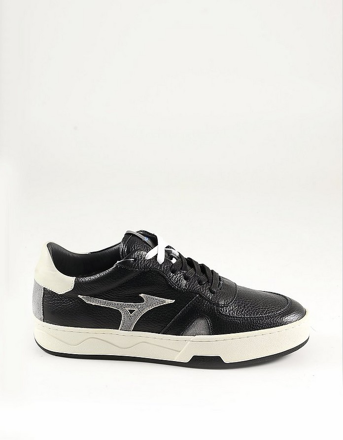Black Leather Men's Sneaker - Diadora