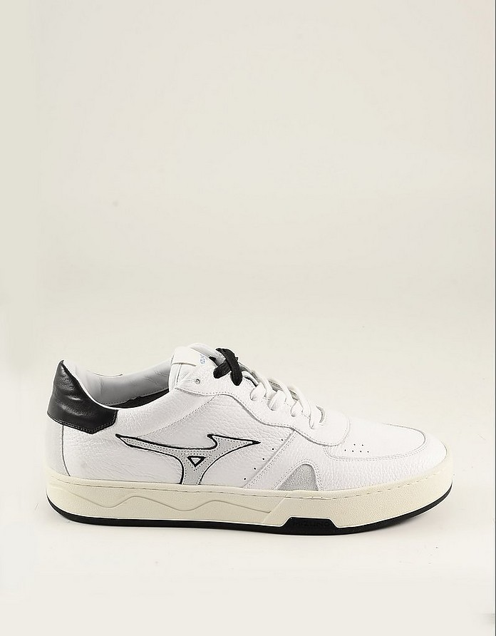 White Leather Men's Sneaker - Diadora