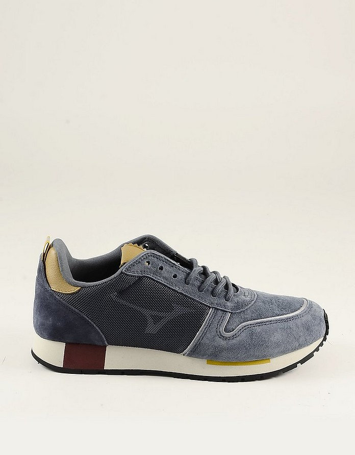 Blue Delavè Suede Men's Sneakers - Diadora
