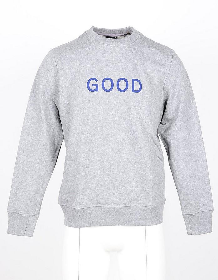 Blue/Gray Cotton Men's Sweatshirt - Paul Smith