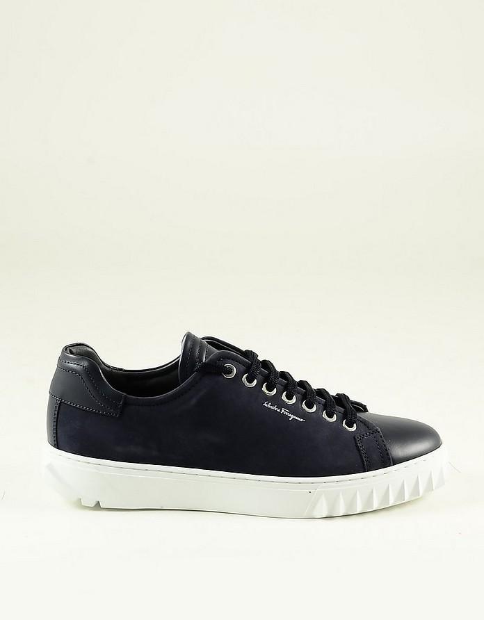 Men's Blue Shoes - Salvatore Ferragamo
