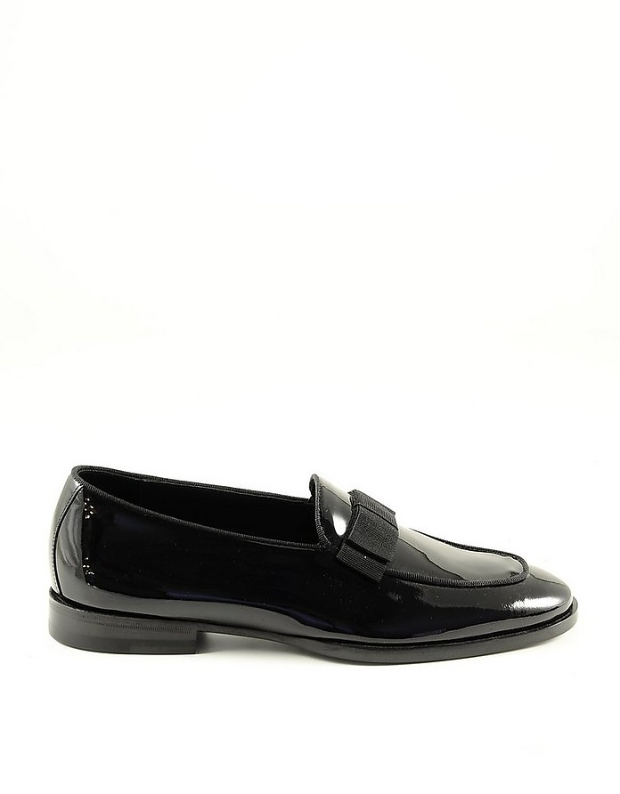 Size 36 to 40 OTHIER Classic black leather loafers