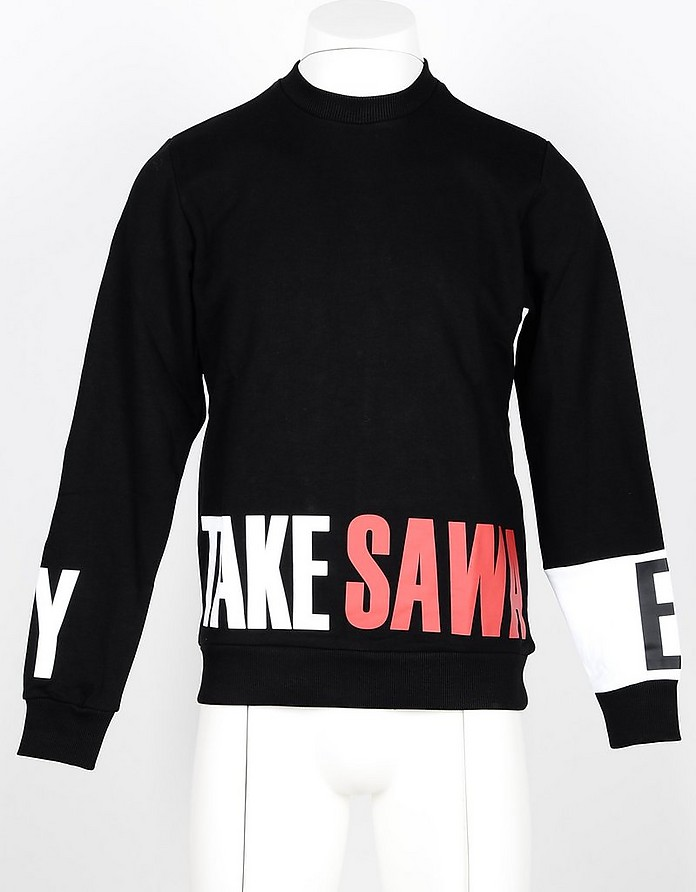 Men's Black Sweatshirt - Takeshy Kurosawa