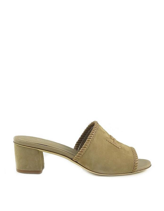 Women's Beige Slide Sandal - Tod's