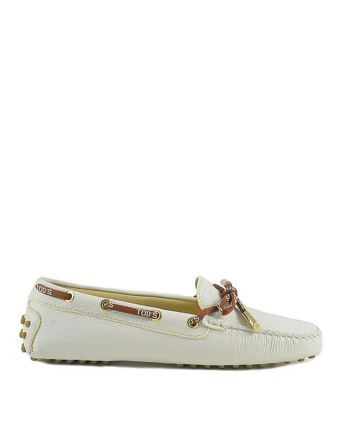 Women's White Loafer Shoes - Tod's