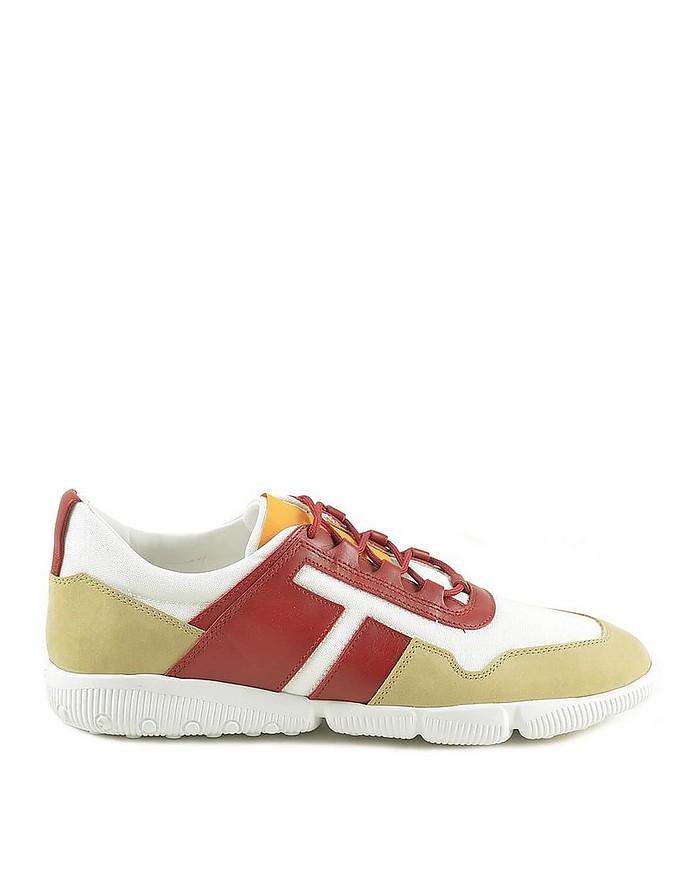 Men's Red Sneakers - Tod's