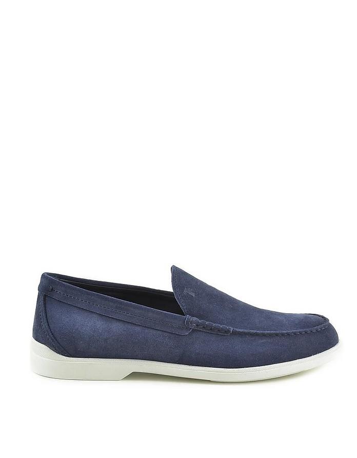 Blue Men's Loafer Shoes - Tod's