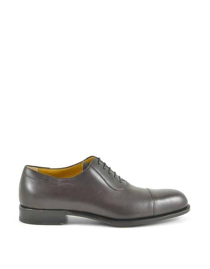 Men's Brown Oxford Shoes - A.Testoni