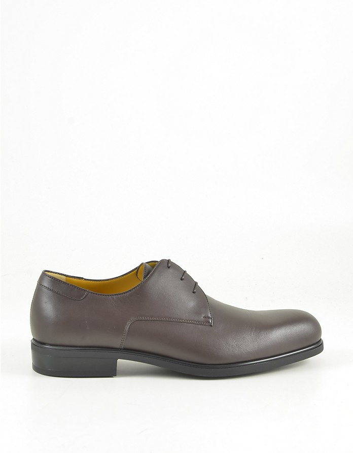 Men's Brown Derby Shoes - A.Testoni