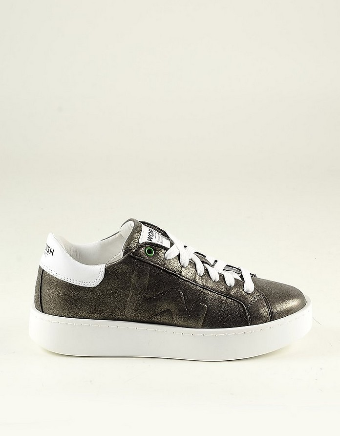 Mud Leather Women's Sneakers - WOMSH