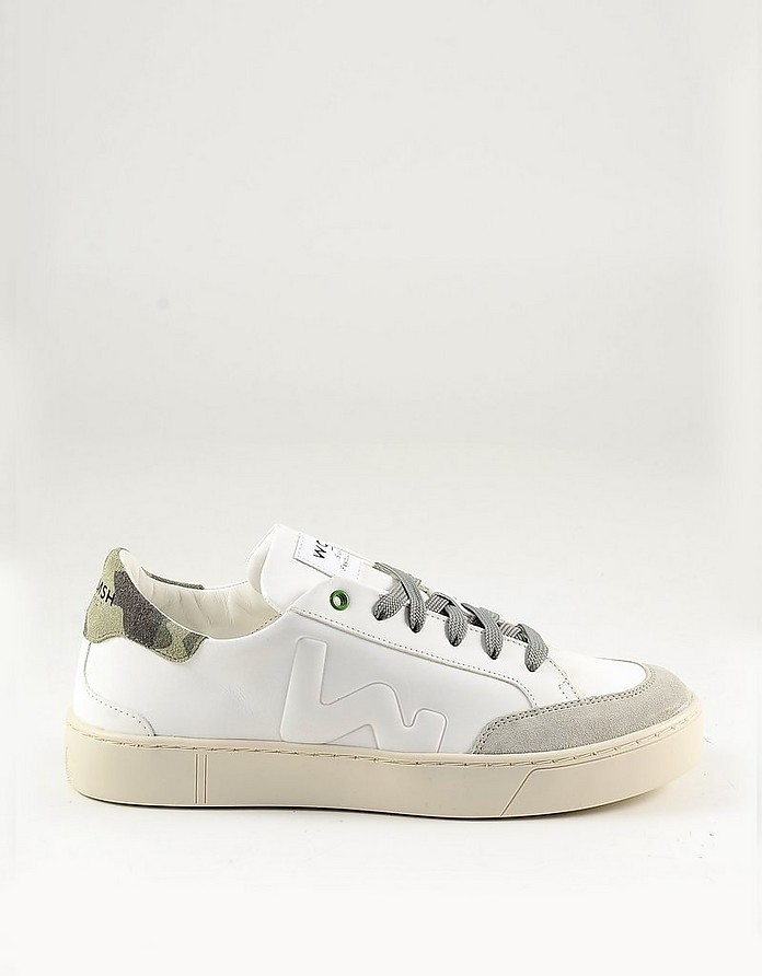 Men's White Shoes - WOMSH