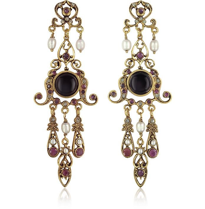 Chandelier Earrings - Alcozer & J
