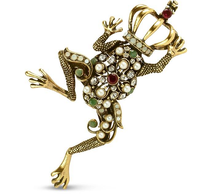 Frog Prince Brooch - Alcozer & J