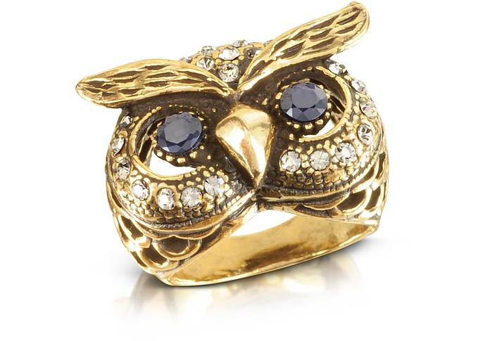 Owl Brass Ring - Alcozer & J