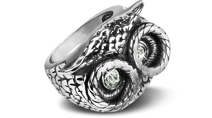 Owl Brass Ring - Alcozer & J