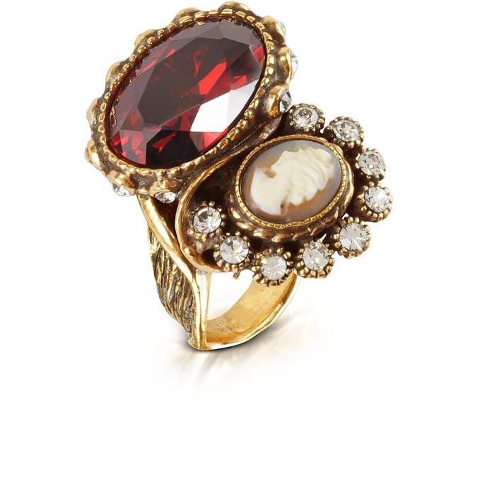 Cameo Brass Ring - Alcozer & J