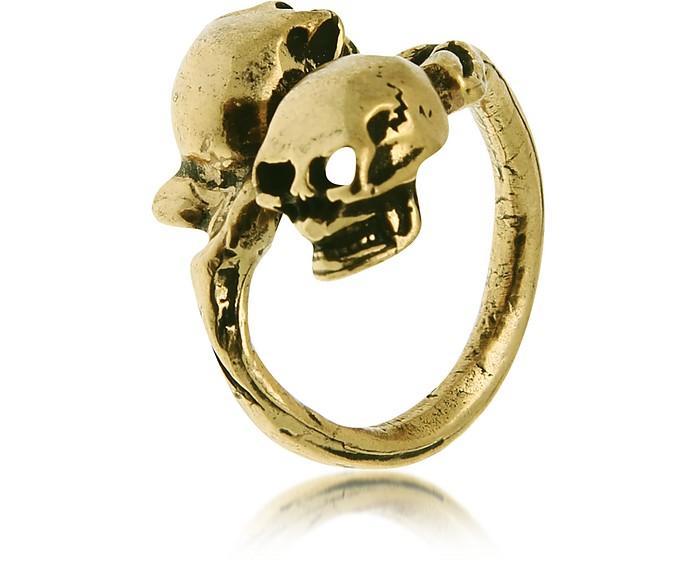 Skull Brass Ring - Alcozer & J