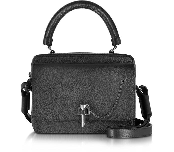 Malher Petit Black Leather Camera Bag - Carven