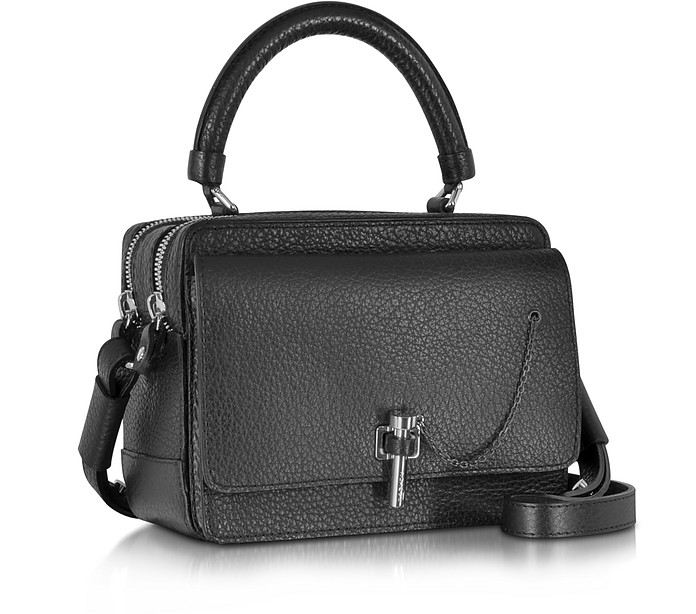 5c0e8f69e19 Malher Petit Black Leather Camera Bag - Carven. $630.00 Actual transaction  amount