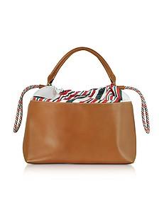 Varenne Leather Large Tote Bag - Carven
