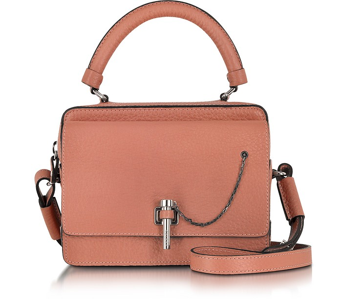 Malher Terracotta Grained Leather Camera Bag - Carven