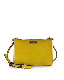 Duo Jonquille Haircalf Crossbody Bag