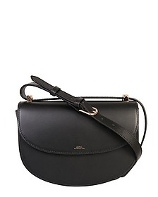 Black Geneve Leather Crossbody Bag - A.P.C.