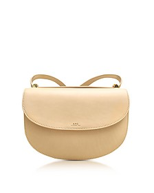 Beige Natural Geneve Leather Crossbody Bag - A.P.C.