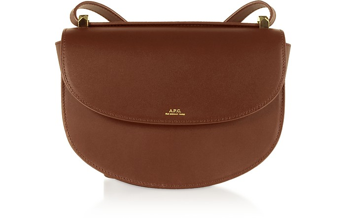 Hazel Geneve Leather Crossbody Bag - A.P.C.
