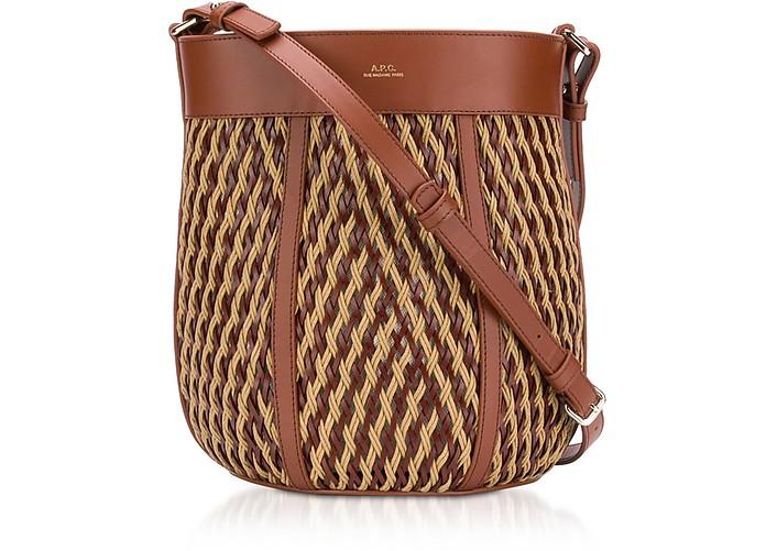 Garance Woven Leather Shoulder Bag - A.P.C. / アーペーセー