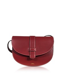 Eloise Brandy Leather Shoulder Bag - A.P.C.