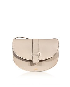 Eloise Beige Leather Shoulder Bag - A.P.C.