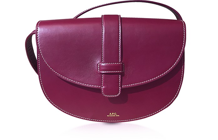 Eloise Genuine Leather Shoulder Bag - A.P.C.