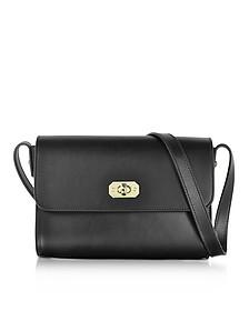 Greenwich Black Leather Crossbody Bag - A.P.C.