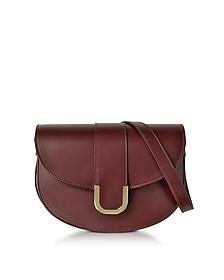 Soho Lie De Vin Leather Crossbody Bag - A.P.C.
