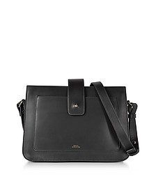 Albane Black Leather Crossbody Bag - A.P.C.