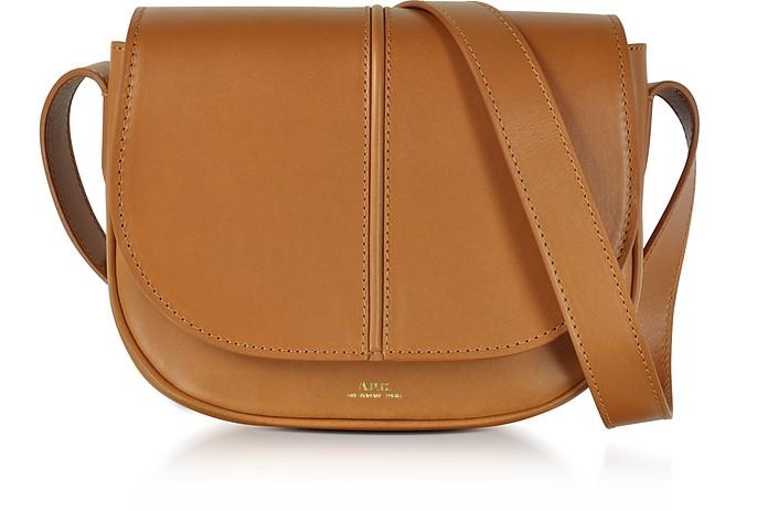 attractivedesigns kid performance sportswear Betty Camel Leather Crossbody Bag