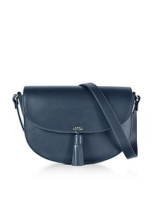 Diane Dark Navy Leather Crossbody Bag - A.P.C.