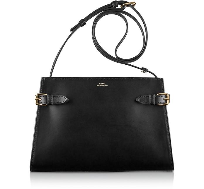 Genuine Leather Charlotte Shoulder Bag - A.P.C.