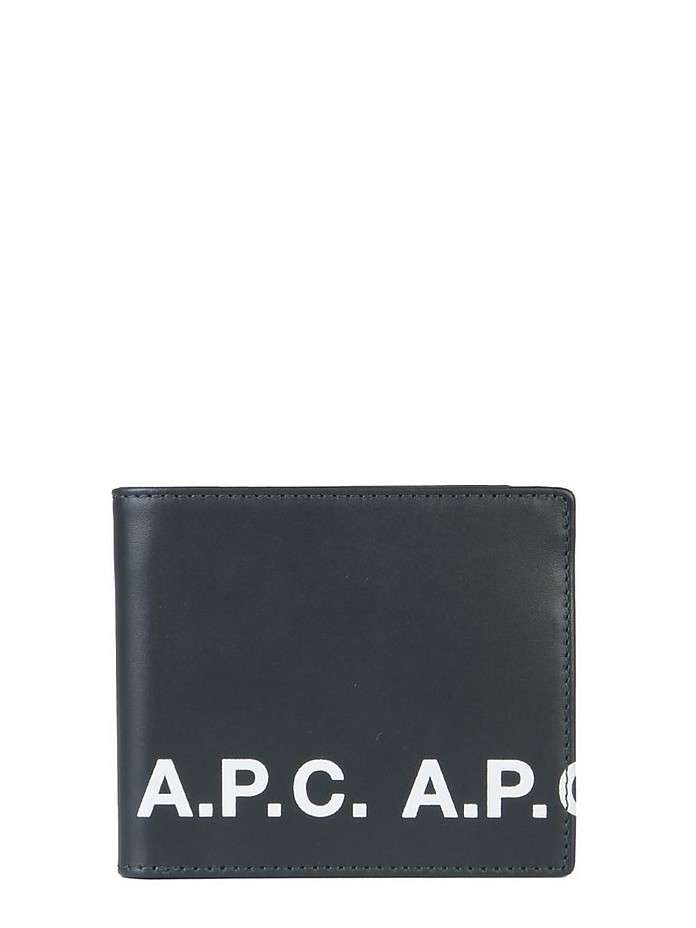 WALLET WITH LOGO - A.P.C.