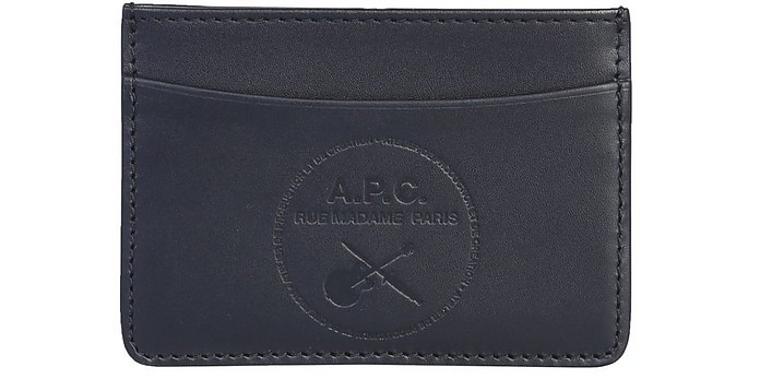 Card Holder With Logo - A.P.C.
