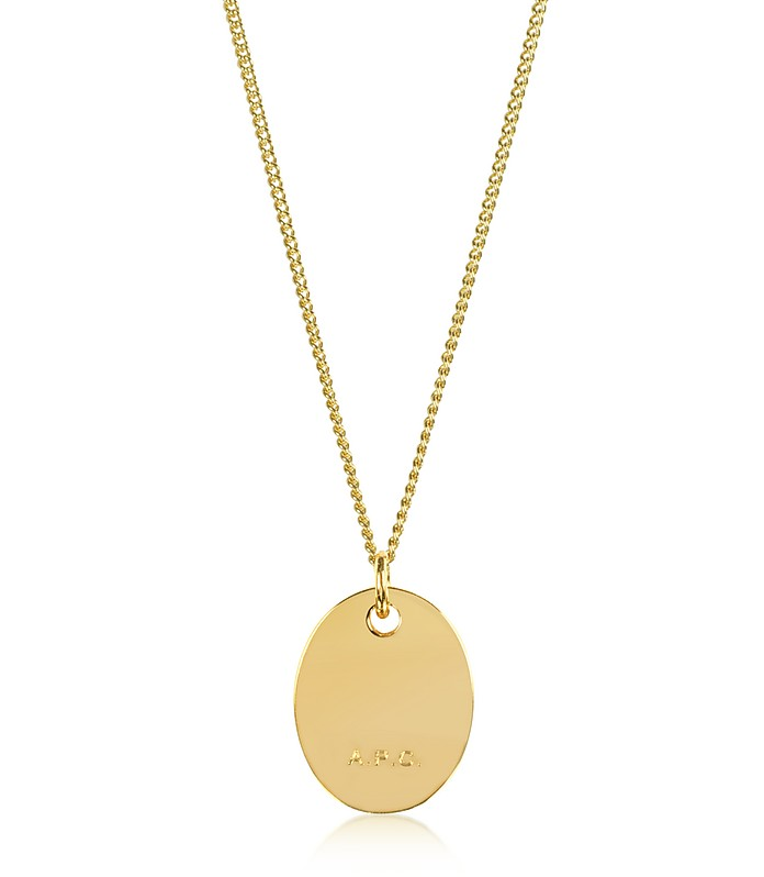 Hannaelle Oval Pendant Necklace - A.P.C.