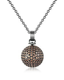 Semi-Sphere Pendant Necklace - Azhar