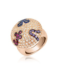 Multicolor Fashion Ring - Azhar