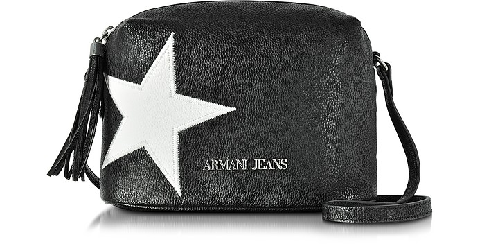 79ca4c0d27a Armani Jeans White Star Small Crossbody Bag at FORZIERI