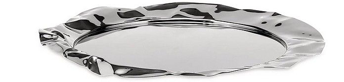 Foix - Stainless Steel Round Tray - Alessi